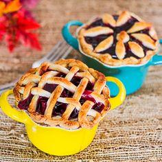 Mini Gluten Free Cherry Pies