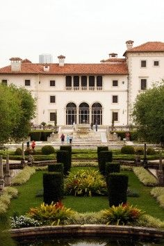 The Vizcaya Museum & Gardens is an intriguing tourist attraction in Miami, Florida.