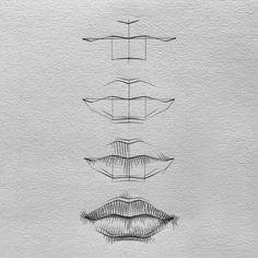 """𝑱𝑨𝑪𝑲 on Instagram: """"One way of drawing lips😁 hope it's helpful! Let me know if you'd like me to make a reel of drawing lips as well:) • See bio for a FREE…"""" Mouth Drawing, Guy Drawing, Drawing Sketches, Sketching, Drawing Lips, Face Drawings, Drawing Process, Drawing Skills, Process Art"""