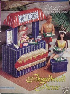 Hot Dog Consession Stand Fashion Doll Plastic Canvas Pattern | eBay