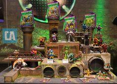 Toy Fair Playmates' Upcoming 'Teenage Mutant Ninja Turtles' Figures And Vehicles Ninja Turtle Toys, Ninja Turtles Action Figures, Tmnt Turtles, Teenage Mutant Ninja Turtles, Ninja Turtle Birthday, Ninja Turtle Party, Ninja Party, Nerf Party, Power Rangers Toys
