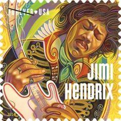 Lang ersehnt: Briefmarke für Jimi Hendrix