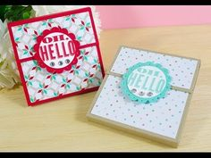 Post It Note Holder - Stampin' Up! Australia - YouTube