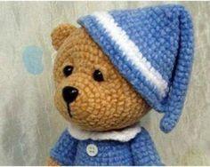 Teddy Bear Sleeper – Amigurumi – Free Crochet Pattern21 August 2017 Jacky Amigurumi