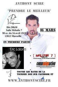Anthony Scire Tour 2013 en Live Streaming