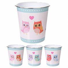 Planter Pots, Owls, Tableware, Plastic, Gift Ideas, Paper Basket, Household, Gifts, Dinnerware