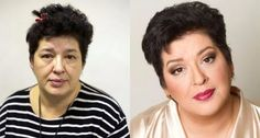 Professional Makeup Artist Tips from Vadim Andreev. He shows how women could differ before and after applying make-up. Makeup Artist Tips, Professional Makeup Artist, Vadim Andreev, Beauty Secrets, Beauty Hacks, Beauty Tips, Without Makeup, Girl Pictures, Funny Pictures