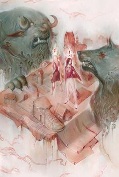A Closer Look At The Work Of Brazilian Comics Illustrator Joao Ruas | Septagon Studios Comic Blog: Comic Creation Trends, Resources and News