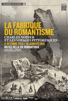La Fabrique du Romantisme au Musée de la vie romantique Affiche.
