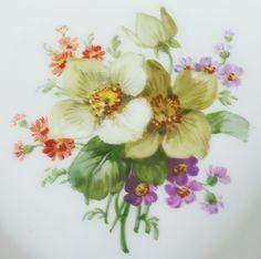 KPM Berlin Teller / Brotteller mit bunter Blumenmalerei, D= 16,5cm #1 in Antiquitäten & Kunst, Porzellan & Keramik, Porzellan | eBay