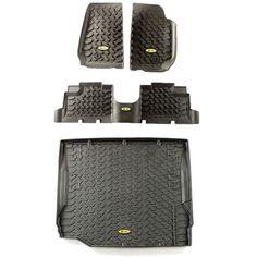 Jeep Floor Mats | Bestop Floor Liner Kit | 51513-01KFRC2