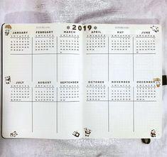 12 Fabulous Bullet Journal Yearly Spreads — Sweet PlanIt - 12 Fabulous Bullet Journal Yearly Spreads — Sweet PlanIt Informations About 12 Fabulous Bullet Jou - Bullet Journal School, Bullet Journal Year At A Glance, Bullet Journal Yearly Spread, Bullet Journal Cover Page, Bullet Journal Notebook, Bullet Journal Themes, Bullet Journal Layout, Bullet Journal Inspiration, Journal Ideas