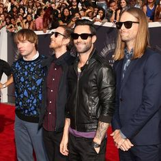 maroonersinnerm5: Love how each member has there own style #maroon5