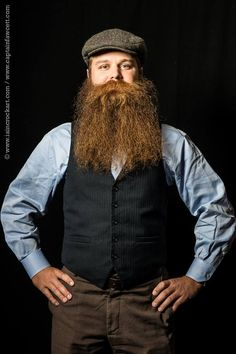 Sunday Best: Official World Championships Portraits 2015 Red Beard, Full Beard, Great Beards, Awesome Beards, Hairy Men, Bearded Men, Long Beard Styles, Beard Ideas, Thick Beard