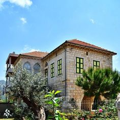 LEBANON, A BEAUTIFUL HOME IN DOUMA Architecture, Exterior, Building Design, Lebanon, Traditional Architecture, Mansions, Facade, Old Buildings, House Styles