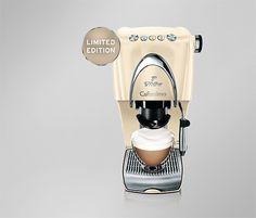 Cafissimo CLASSIC, limitovaná edícia! Espresso Machine, Nespresso, Coffee Maker, Pearl, Classic, Espresso Coffee Machine, Coffee Maker Machine, Derby, Coffee Percolator