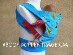 Nähanleitungen Kind - Ebook Puppentrage Ida - ein Designerstück von Zapperlott bei DaWanda