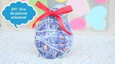 DIY: Ovos de Páscoa feitos de linha