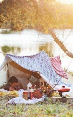 #picnic #set #design #camping #engagement