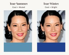 Winter Colors, Summer Colors, Soft Summer Color Palette, Seasonal Color Analysis, Colors For Skin Tone, Summer Skin, Season Colors, Dark Hair, Winter Makeup