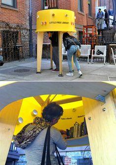 Biblioteca en la calle, New York