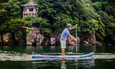 Tomo Murabayashi on Lake Biwa. | Photo: Franz Orsi
