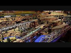 Tons of Model Railroad Action on One Module