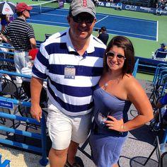 "@megan_comeau's photo: ""#daddy #tennis #NewHavenOpen #NHO12 #tenniscourt @jscomeau """