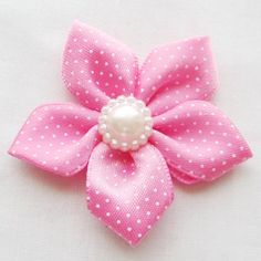Chenkou Craft Satin Ribbon Flowers W/Bead Wedding Sewing Appliques DIY Crafts *** To view further for this item, visit the image link. Satin Ribbon Flowers, Sewing Appliques, Craft Projects, Stud Earrings, Diy Crafts, Beads, Unique, How To Make, Image Link