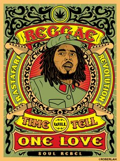 rasta | Reggae_Rastafari_Revolution_by_roberlan