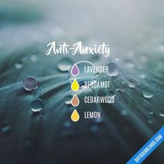 Anti-Anxiety — Essential Oil Diffuser Blend
