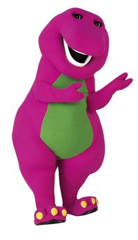 Free Barney Coloring Pages To Print (As much as I hate Barney, I love my 2-year old even more...)
