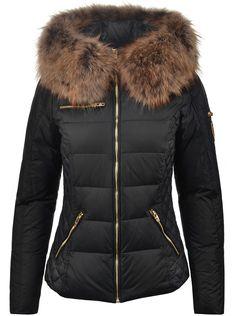 Prošívaná dámská péřová bunda švédské značky Rockanedblue | Péřové zimní bundy | Parky | BUNDY | KABÁTY | Chicshop.cz
