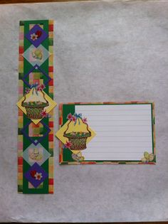 Creative Memories Easter border and journaling box