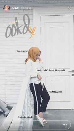 Casual Hijab Outfit, Ootd Hijab, Hijab Fashion Inspiration, Style Inspiration, Photo Poses, Muslim, Womens Fashion, Outfits, Shopping