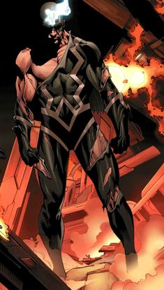 Black Bolt by Mike Deodato Jr. - Marvel Comics - Inhumans - Comic Book Art