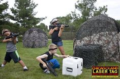 Chicagoland Laser Tag - Don't just play the game, BE THE GAME!