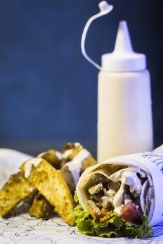 Kebab de Pernil do Trailler Spiro Giro de Campinas é campeão de venda. Confira a receita criada pelos sócios Fábio Russo e Lucas Silveira