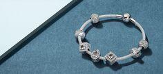 Плетеное стерлинговое серебро - удивительная текстура, которая будет излучать прелестный блеск на вашем запястье.