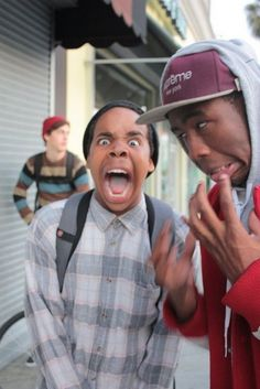Earl Sweatshirt and Tyler the Creator ^0^ sexxxxx :L hahahahhaa