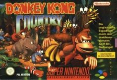 Along with its two SNES sequels, Donkey Kong Country is one of the defining platformers of the Super Nintendo Entertainment System. Nintendo 64, Super Nintendo Games, Nintendo Switch, Entertainment System, Sega Genesis, Gi Joe, Wii, 90s Video Games, Playstation