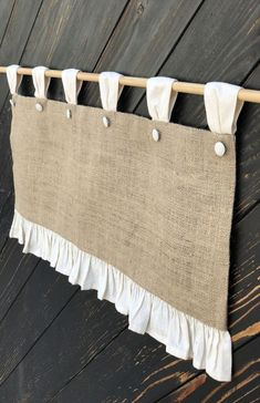 Burlap Curtains Cottage Kitchen Ruffle Valance Simple Rustic French Country Window Treatment Natural Burlap Primitive Farmhouse Decor – The Best Ideas Burlap Kitchen, Farmhouse Kitchen Curtains, Kitchen Valances, Farmhouse Decor, Primitive Kitchen, Diy Kitchen, Rustic French Country, Rustic Country Kitchens, Cottage Kitchens