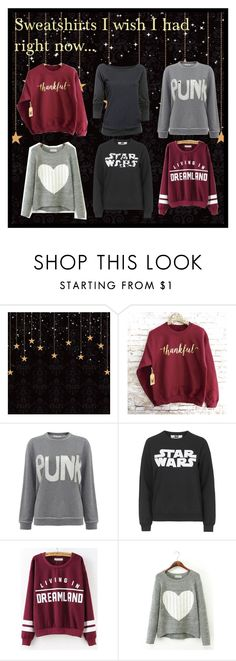 """Sweatshirts"" by disneychick14 ❤ liked on Polyvore featuring Bella Freud, Tee and Cake, Under Armour, sweatshirts and winteressentials"