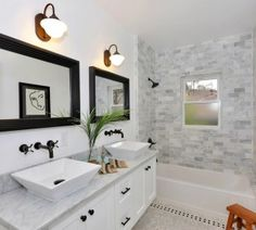Traditional Modern Bathrooms modern traditional bathroom - google search | bathtub/shower