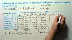 www.matematicasyeso.es ----- Sigue los vídeos en orden desde esta web En este vídeo vamos a calcular la varianza y la desviación típica con datos agrupados e...