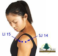 There are many causes of shoulder pain. Fortunately, there are many acupressure points for relieving shoulder pain. Here are two great acupressure points...