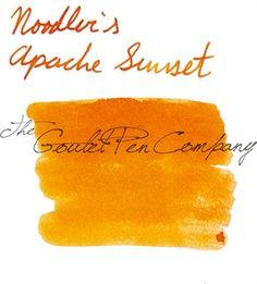 INK SAMPLE - Noodler's Apache Sunset - $1.25