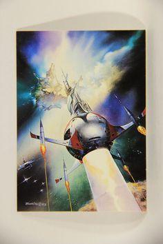 L011010 Boris Vallejo 1992 Card / Big Bang - 1983 - Card #13 / ARTWORK