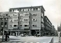 Eerste AH Supermarkt, Schiedam, 1952.