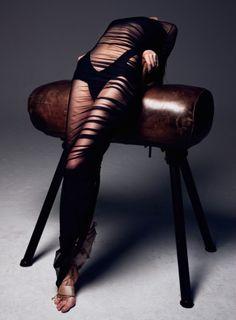 Hanne Gaby Odiele Wears Couture for Harper's Bazaar Turkey August 2013 by Gianluca Fontana |